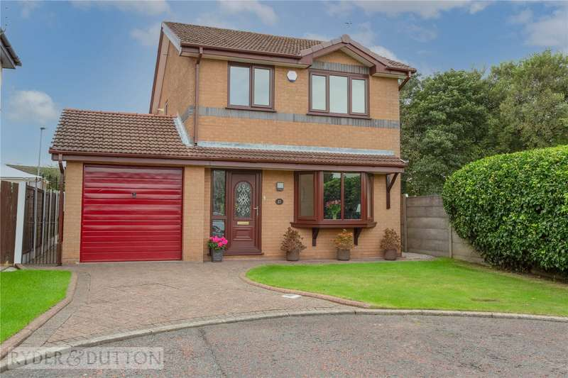 3 Bedrooms Detached House for sale in Cricket View, Milnrow, Rochdale, Greater Manchester, OL16