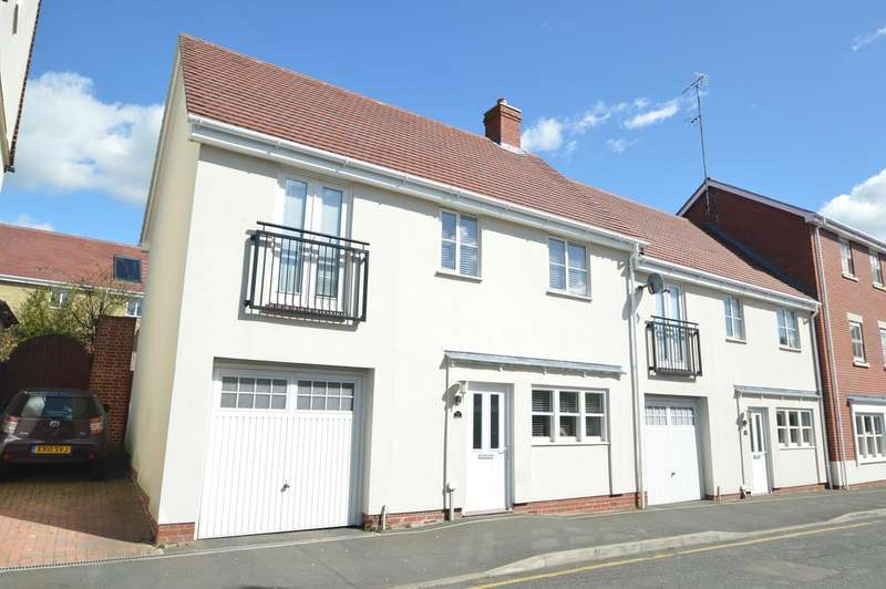 4 Bedrooms Semi Detached House for sale in Parsonage Street, Halstead