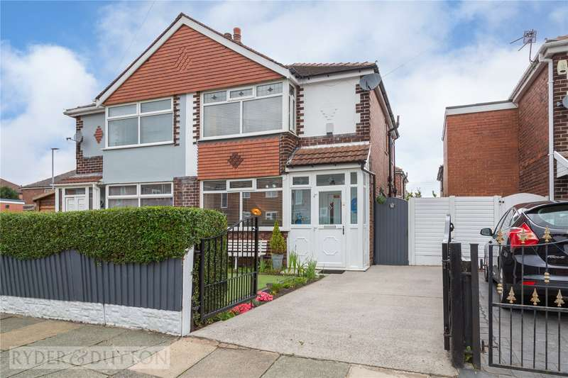 2 Bedrooms Semi Detached House for sale in Hawthorn Road, Droylsden, Manchester, M43