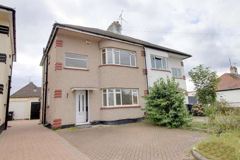 3 Bedrooms Semi Detached House for sale in Byrne Drive, Southend on Sea, Essex, SS2 6SA