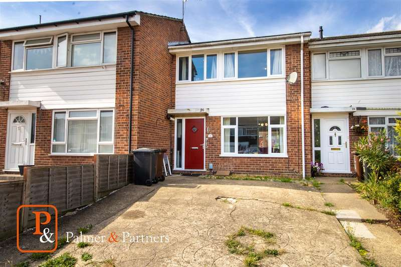 3 Bedrooms Semi Detached House for sale in Onslow Crescent, Colchester, CO2