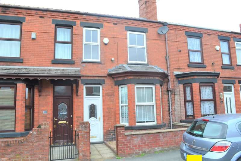 3 Bedrooms Terraced House for rent in Springfield Road, Springfield, Wigan, WN6 7BB