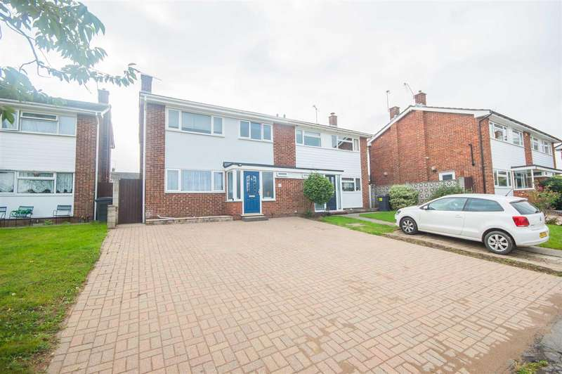 3 Bedrooms Semi Detached House for sale in Tamar Rise, Springfield, Chelmsford