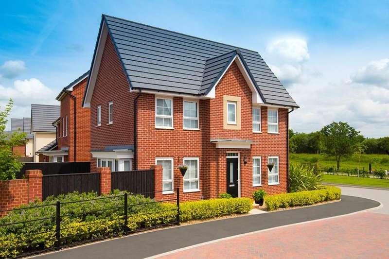 3 Bedrooms House for sale in Morpeth Ii, Highgate Park, Lytham Road, Warton, PRESTON, PR4 1XD