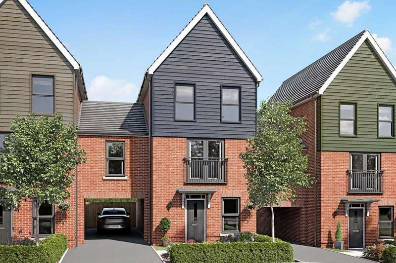 3 Bedrooms House for sale in Cannington, New Lubbesthorpe, Tweed Street, Lubbesthorpe, LEICESTER, LE19 4BH