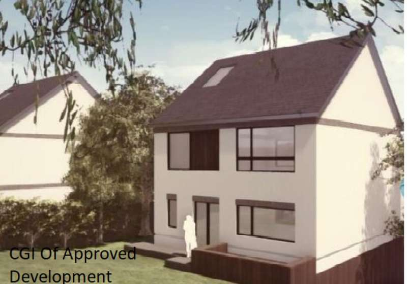 3 Bedrooms Detached House for sale in Land Adjacent to Woodbury, Woodbury Hill Path, Luton, Bedfordshire, LU2 7JR