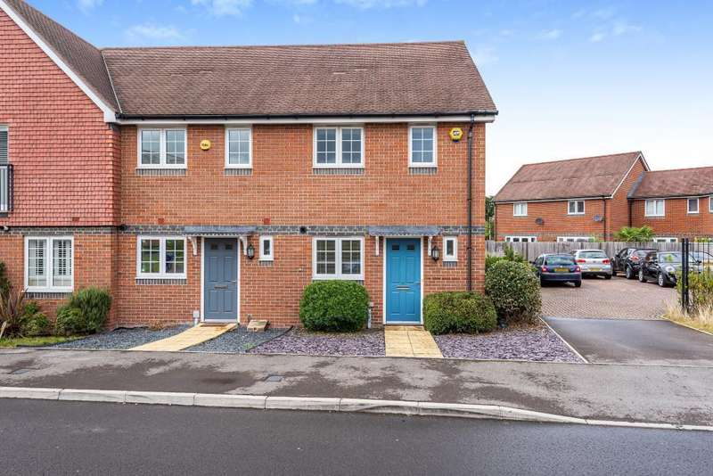 2 Bedrooms End Of Terrace House for sale in Tabby Drive, Three Mile Cross, Reading, RG7