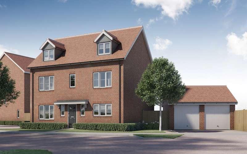 5 Bedrooms Detached House for sale in Tavistock Place, Bedford, Bedford, MK45