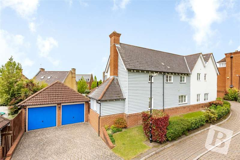 4 Bedrooms Detached House for sale in Tallis Way, Warley, Brentwood, CM14