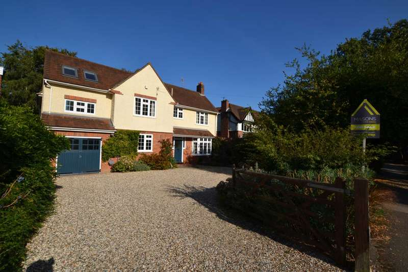 5 Bedrooms Detached House for sale in Kidmore Road, Caversham Heights