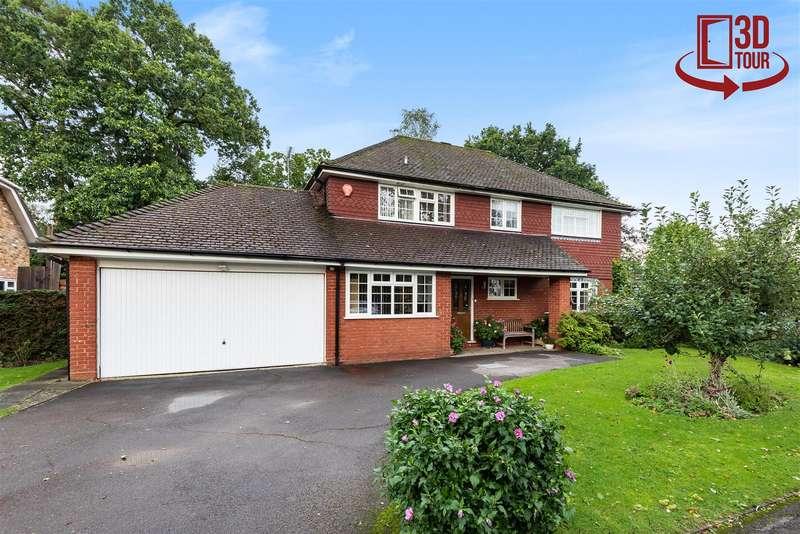 4 Bedrooms Detached House for sale in Springdale, Finchampstead, Berkshire, RG40 4RZ