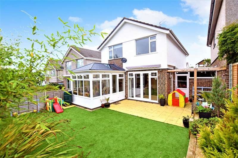 4 Bedrooms Detached House for sale in Chesle Close, Portishead