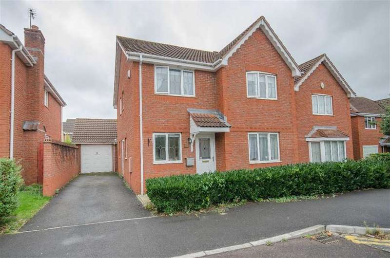 4 Bedrooms Detached House for sale in Rushy Way, Emersons Green, Bristol, BS16 7ER