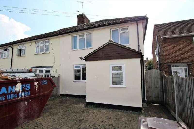 3 Bedrooms Semi Detached House for rent in Romsey Road, Dagenham, Essex, RM9 6BB