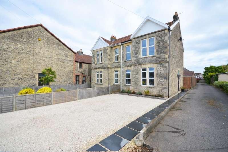 3 Bedrooms Semi Detached House for sale in Manor Road, Keynsham, Bristol