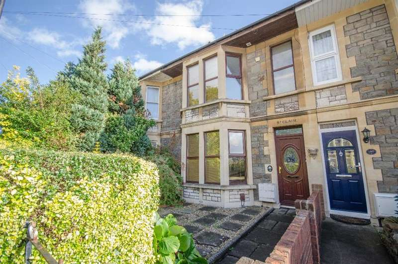 3 Bedrooms Terraced House for sale in Downend Road, Downend, Bristol, BS16 5EA