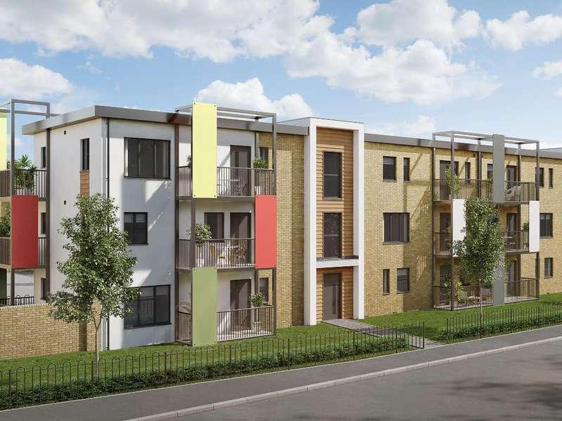 2 Bedrooms Flat for sale in The Mercury Block K, Castellum Grange, Mason Road, Colchester, CO1 1XX