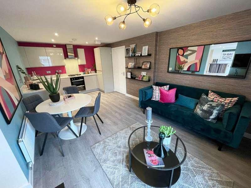 2 Bedrooms Flat for sale in Apartment Block H plots 209, Knightswood Place, New Road, Rainham, RM13 8QT