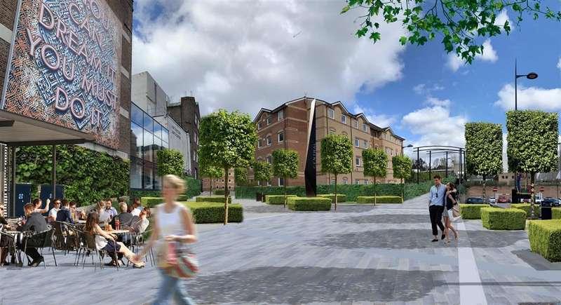 Studio Flat for sale in Lea Halls, Bute Street, Luton