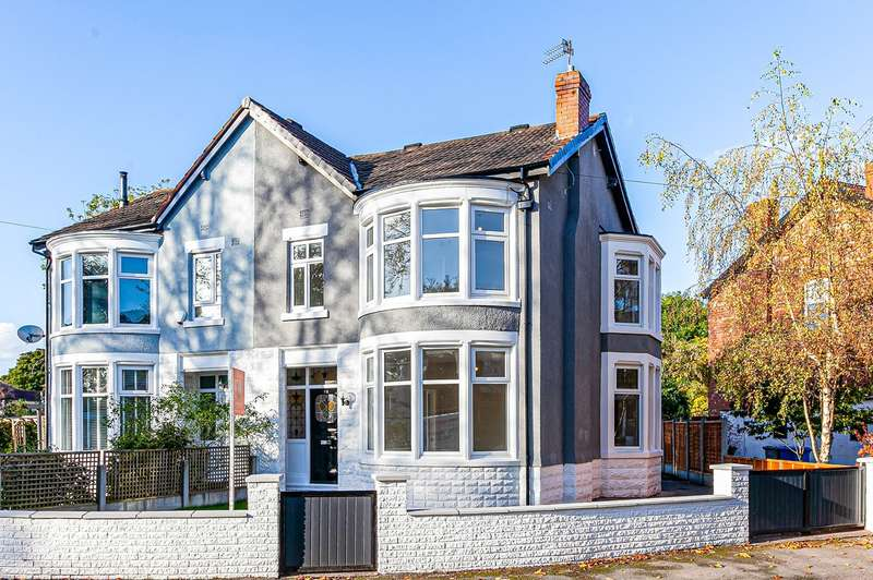 3 Bedrooms Semi Detached House for sale in Plumbley Drive, Old Trafford, Manchester, M16