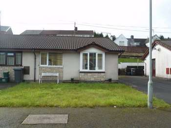 2 Bedrooms Semi Detached Bungalow for sale in Cwm Varteg, Bryn, Port Talbot, West Glamorgan