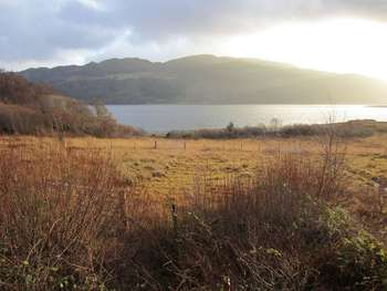 Land Commercial for sale in AVERNISH: 2 large plots, loch views, water on-site, outline planning, Mainland