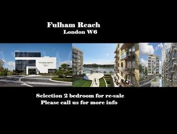 2 Bedrooms Flat for sale in Redgrave Court, Fulham Reach, Fulham