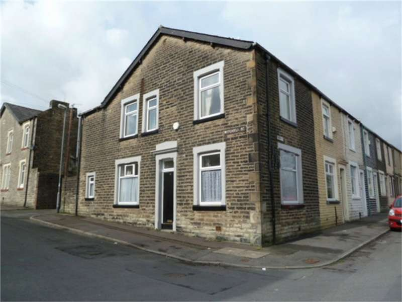 3 Bedrooms End Of Terrace House for sale in Mitchell Street, Burnley, Lancashire