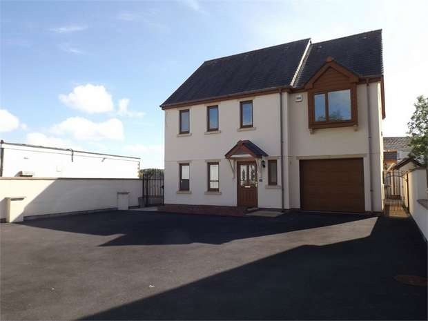 4 Bedrooms Detached House for sale in Monksford Close, Kidwelly, Carmarthenshire