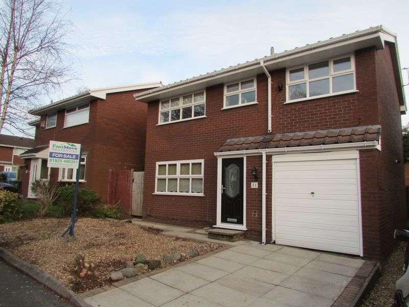 4 Bedrooms Detached House for sale in Heather Close, Beechwood, Runcorn