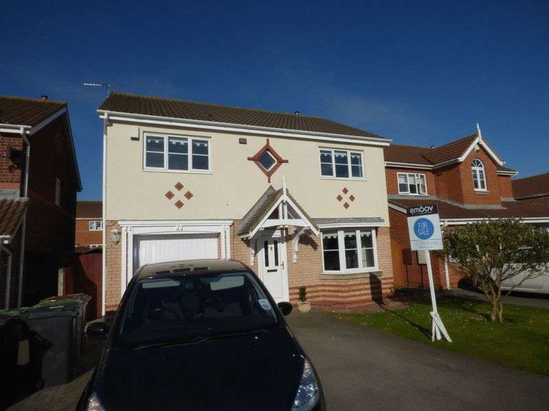 4 Bedrooms Detached House for sale in Deacon Gardens, Seaton Carew, Hartlepool