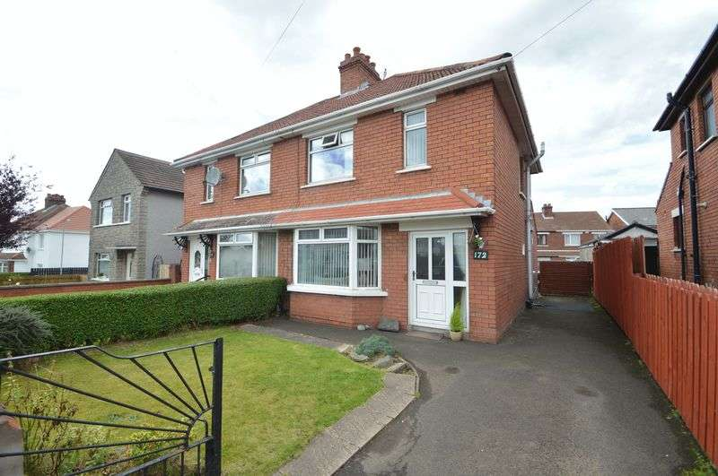 3 Bedrooms Semi Detached House for sale in 172 Grand Parade, Belfast, BT5 5PE