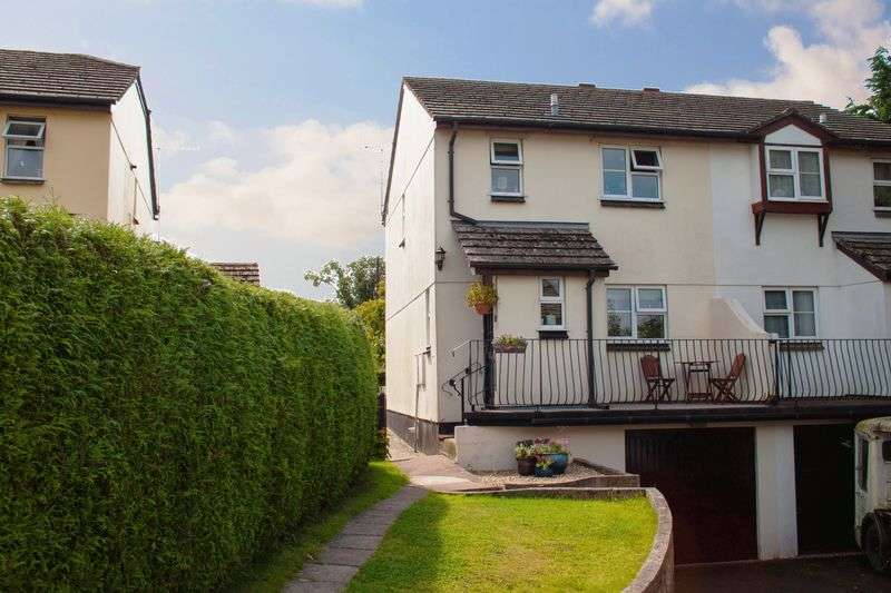 3 Bedrooms Semi Detached House for sale in Greenacre Close, North Tawton