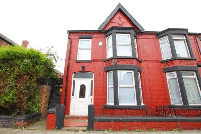 3 Bedrooms Terraced House for sale in Dudley Road, Mossley Hill, Liverpool, L18