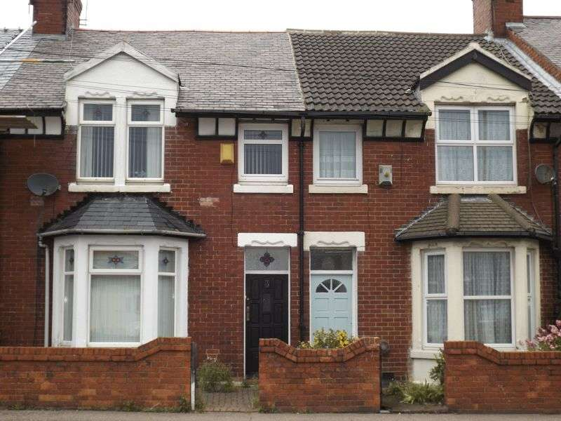 3 Bedrooms Terraced House for sale in Beech Grove, Bedlington - Three Bedroom Terrace House