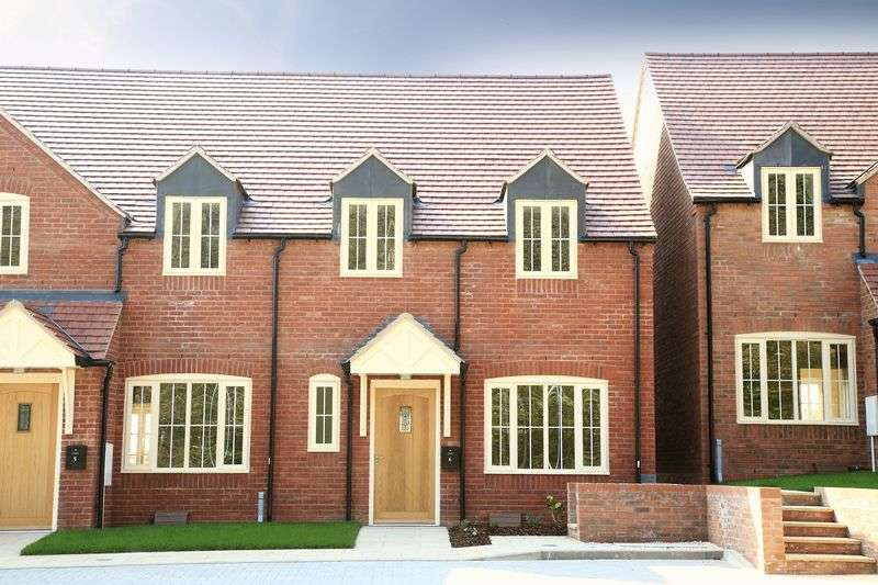3 Bedrooms Terraced House for sale in Mendips View, Much Wenlock