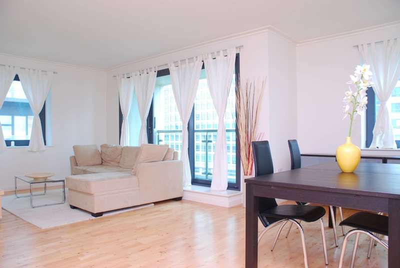 2 Bedrooms Flat for sale in Discovery Dock East, Canary Wharf, E14