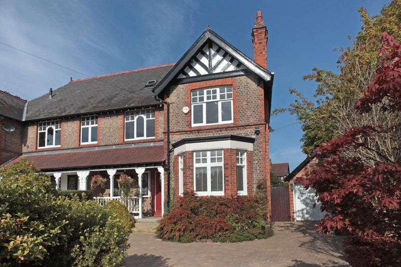 5 Bedrooms Semi Detached House for sale in Warwick Road, Hale