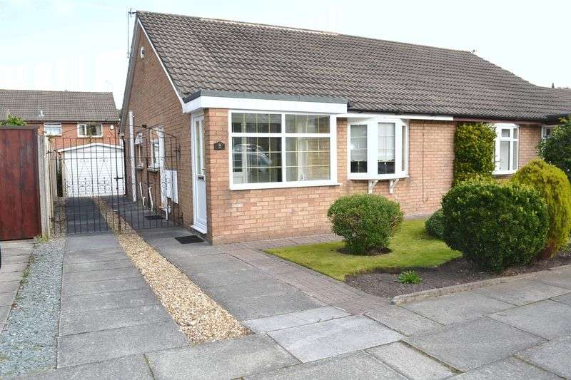 2 Bedrooms Semi Detached Bungalow for sale in Corwen Drive, Netherton, Liverpool