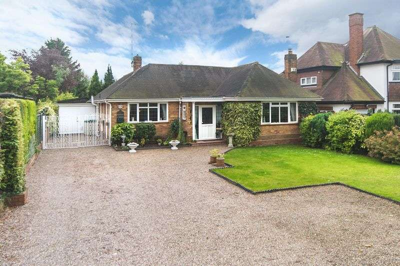 4 Bedrooms Detached Bungalow for sale in Wrottesley Road West, Tettenhall, Wolverhampton