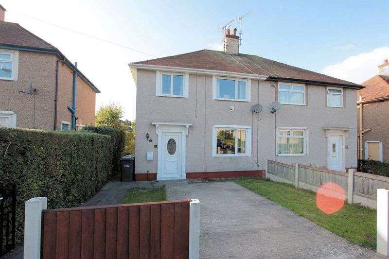 3 Bedrooms Semi Detached House for sale in 51 Central Avenue, Prestatyn