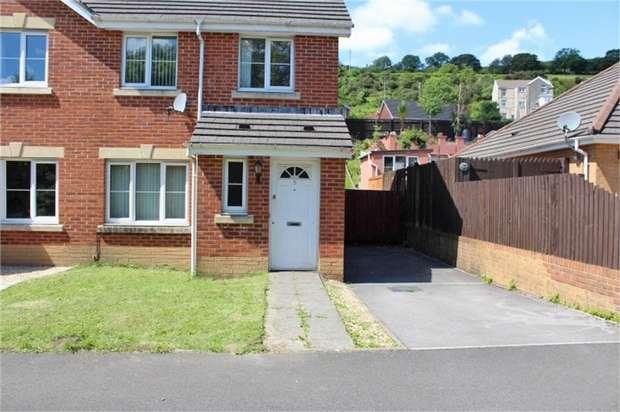 3 Bedrooms Semi Detached House for sale in Nant Y Derwen, Nantyffyllon, Maesteg, Mid Glamorgan