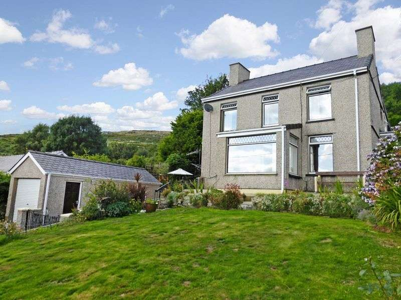 4 Bedrooms Detached House for sale in Talysarn