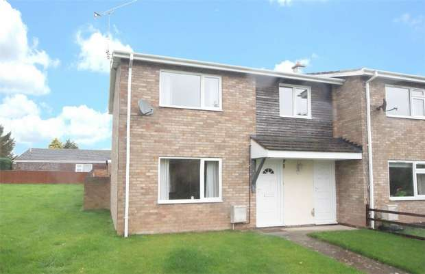 3 Bedrooms End Of Terrace House for sale in Burghill, HEREFORD
