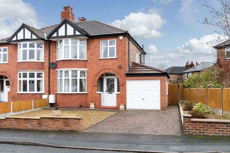3 Bedrooms Semi Detached House for sale in Parker Avenue, Hartford, Northwich