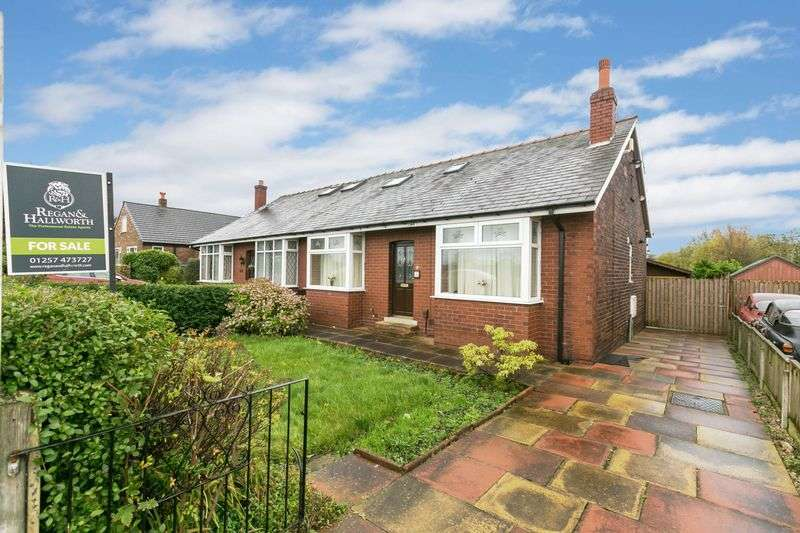 4 Bedrooms Semi Detached Bungalow for sale in Pepper Lane, Standish, WN6 0PW