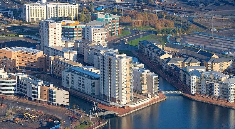 1 Bedroom Flat for sale in Celestia, Falcon Drive, Cardiff. CF10 4PE