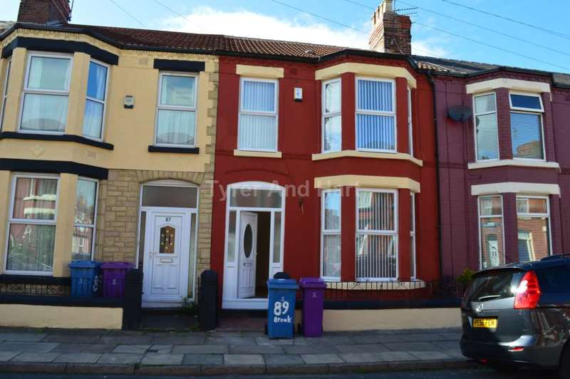 4 Bedrooms House Share for sale in Brookdale Road, Liverpool