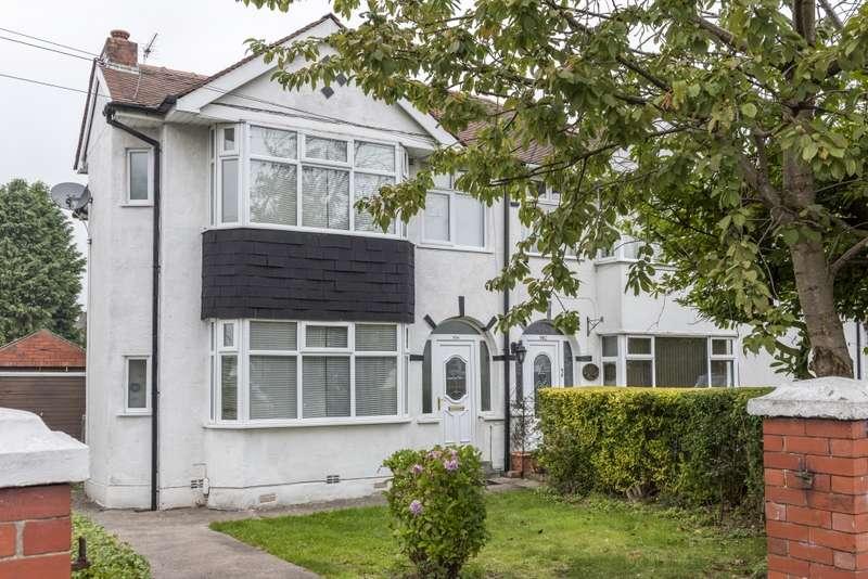 3 Bedrooms Semi Detached House for sale in Blackpool Road, Preston, Lancashire, PR2