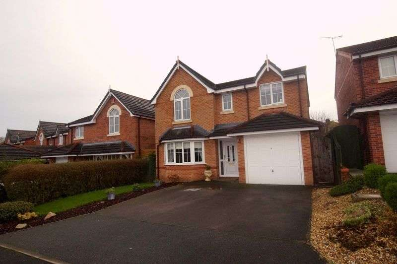 4 Bedrooms Detached House for sale in Westbury Drive, Pandy, Wrexham